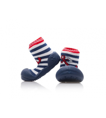 Attipas Detské topánočky veľkosť  L Marine Anchor Red