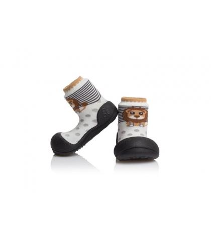 Attipas Detské topánočky veľkosť M Zoo black