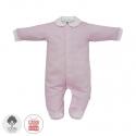 Dojčenský overal veľkosť 56 ružový 375 Cambrass