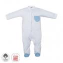 Dojčenský overal veľkosť 56 modrý 389 Cambrass