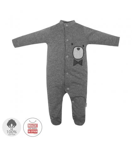 Dojčenský overal veľkosť 56 sivý 398 Cambrass
