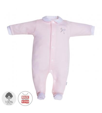 Dojčenský overal veľkosť 52 ružový 401 Cambrass