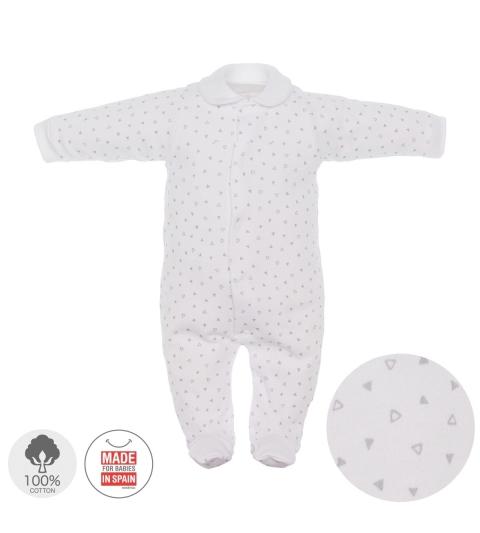 Dojčenský overal veľkosť 52 sivý 692 Cambrass