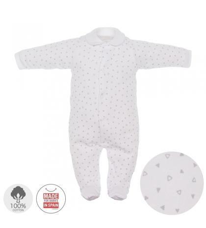 Dojčenský overal veľkosť 68 sivý 692 Cambrass