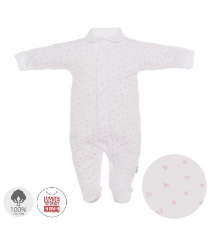 Dojčenský overal veľkosť 52 sivý 692 Cambrass92