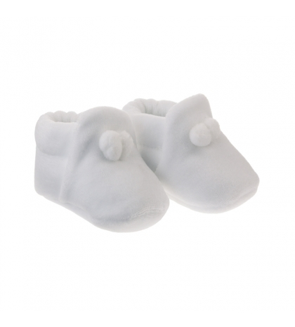 Kojenecké topánočky veľkosť 16 biele CAMBRASS