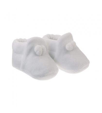 Kojenecké topánočky veľkosť 17 biele CAMBRASS