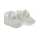 Detské topánočky veľkosť 17 biele CAMBRASS