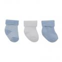 CAMBRASS 3 set detské ponožky 15/16 modré