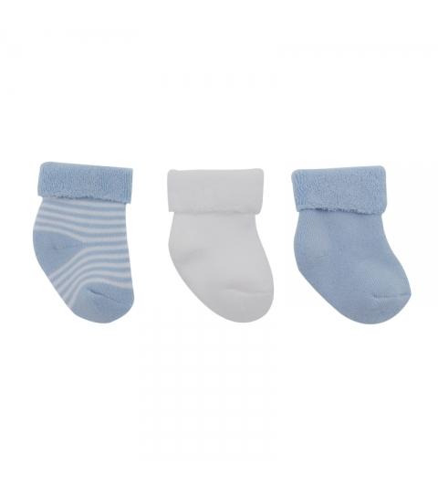 CAMBRASS 3 set detské ponožky 17/18 modré
