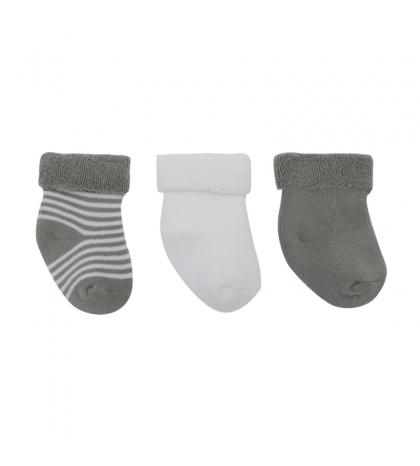 3 set detské ponožky 15/16 sivé CAMBRASS