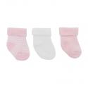 3 set detské ponožky 17/18 STAR ružové CAMBRASS