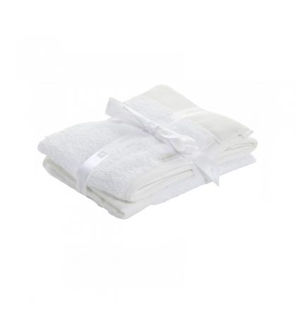 CAMBRASS  Set 2 uteráčikov 25x 35 cm LISO biele