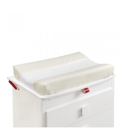 CAMBRASS Obliečka na podložku na prebaľovanie 52x72 cm LISO biela