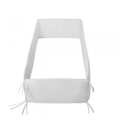 CAMBRASS mantinel do postieľky 360x30 cm liso biely