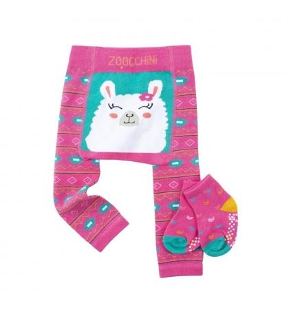 Zoocchini Set legínky a ponožky LAMA 6-12