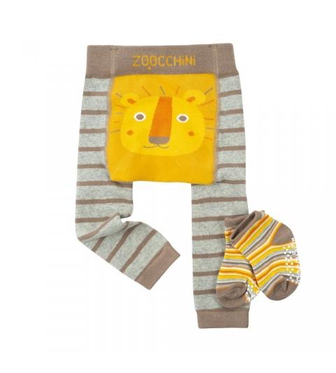 Zoocchini Set legínky a ponožky LEV 6-12
