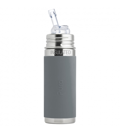 Pura® TERMO fľaša so slamkou 260ml