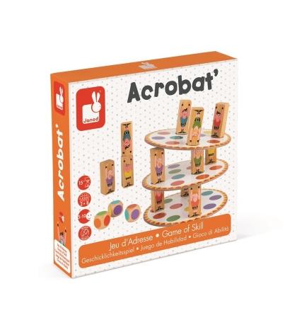Janod Spoločenská hra pre deti Akrobat