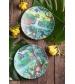 Tommy Lise Bambusový tanier Bird Paradise
