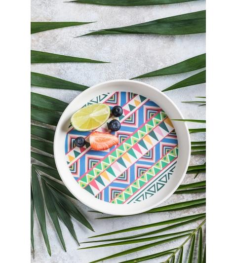 Tommy Lise Bambusový tanier Ethnic Festive