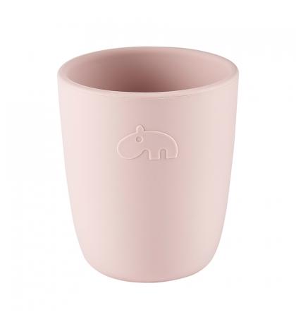 Done by Deer silikónový pohárik ružový
