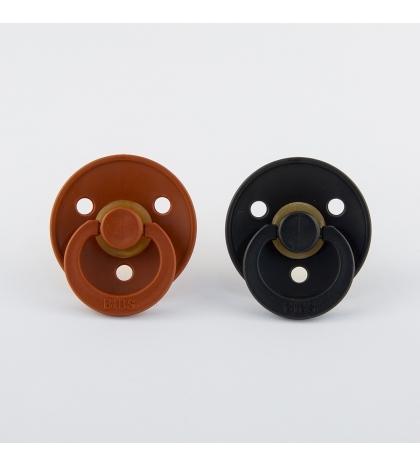 BIBS cumlíky -rust-black- veľkosť 1