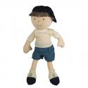 Bonikka látková bábika – chlapec 32 cm Leo