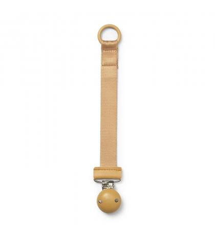 Elodie Details drevený klip na dudlík gold