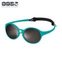 Slnečné okuliare KiETLA JokaKids  4 - 6 rokov  - pávia modrá