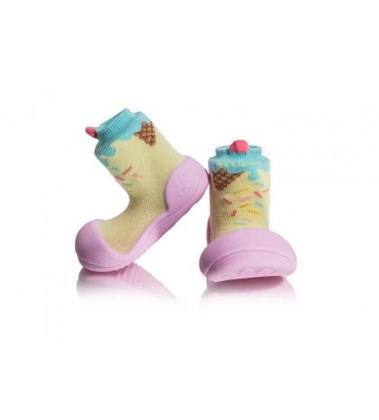 Attipas Detské topánočky veľkosť L Ice Cream Pink