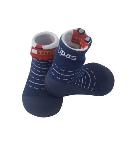 Attipas Detské topánočky veľkosť L Two Face Navy
