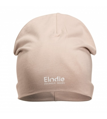 Elodie Details Bavlnená detská čiapka LOGO -Powder Pink new 0-6