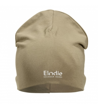 Elodie Details Bavlnená detská čiapka LOGO - Warm Sand 1-2