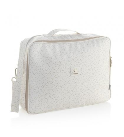 Materská taška-kufor 12 x 47 x 36 cm Clinic HANA béžová CAMBRASS