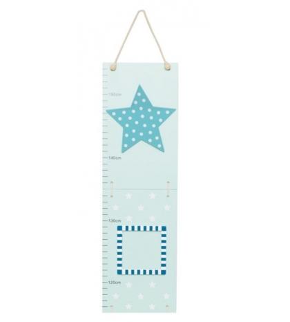 Jabadabado Rastový meter hviezda modrá