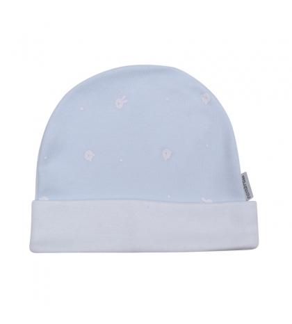 Kojenecká čiapočka veľkosť 56 modrá 713