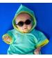 KiETLA slnečné okuliare DIABOLA 0-1 rok čierne