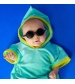 KiETLA slnečné okuliare DIABOLA 0-1 rok biele