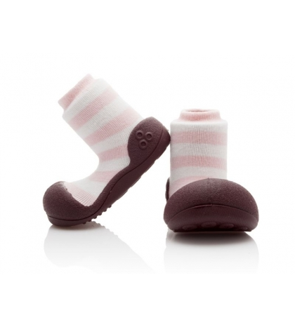 Attipas Detské topánočky veľkosť S Natural Herb Pink