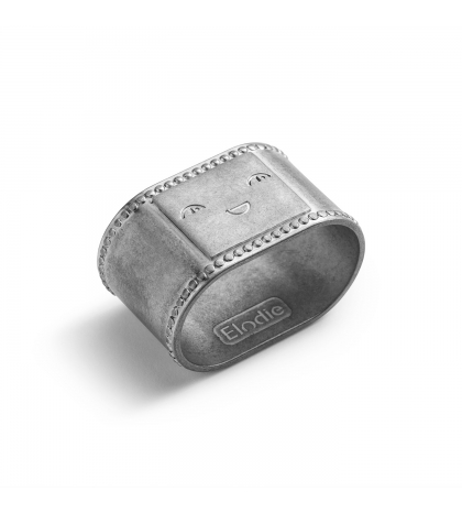 Elodie Details Krúžok na obrúsok EAT Antique Silver