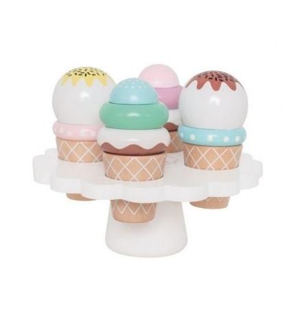 Jabadabado Podnos so zmrzlinou