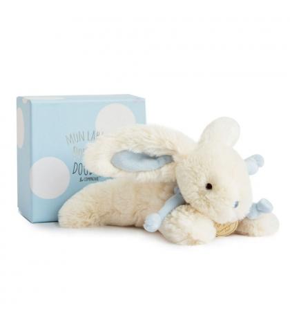 DouDou et Compagnie Lapin Bonbon Zajačik modrý PM 20cm
