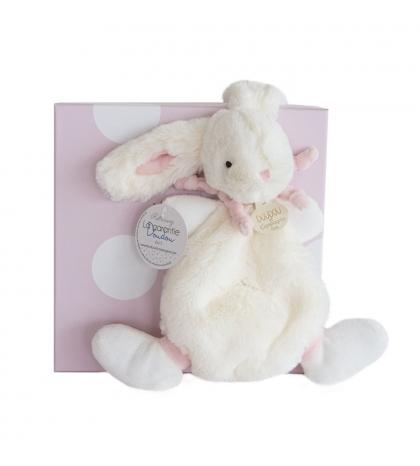 DouDou et Compagnie Lapin Bonbon Zajačik ružový PM mojkáčik 26cm