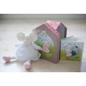 Meiya&Alvin darčekový set Deluxe knižka + hračka myška Meiya