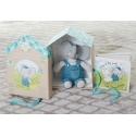 Meiya&Alvin darčekový set Deluxe knižka + hračka sloník Alvin