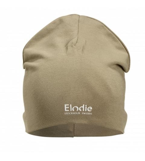 Elodie Details Bavlnená detská čiapka LOGO - Warm Sand 2-3