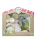 Darčekový set knižka + hračka myška Meiya