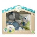 Meiya&Alvin darčekový set knižka + hračka sloník Alvin