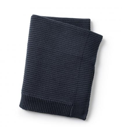 Elodie Details Vlnená deka Juniper Blue